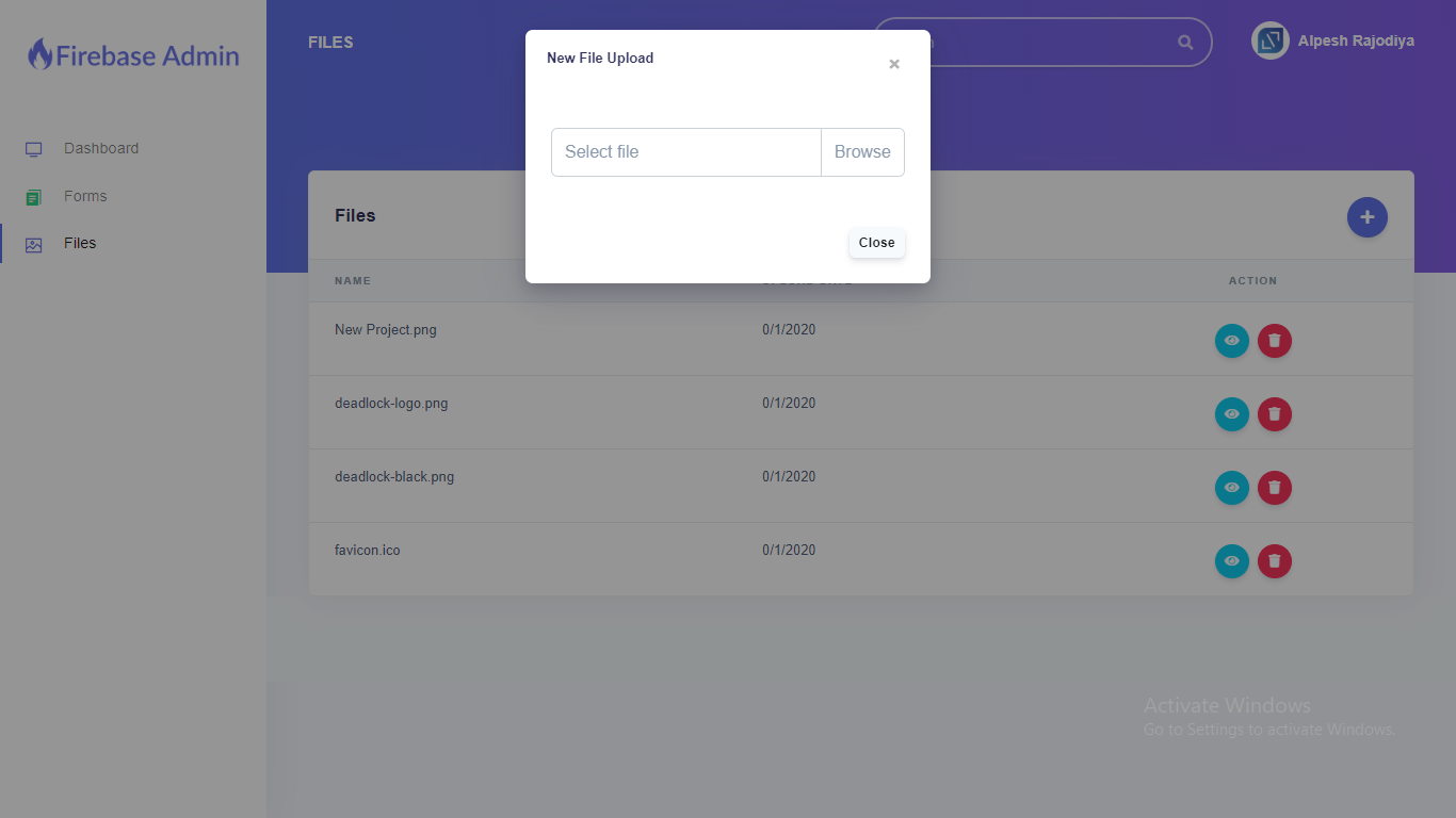 Firebase Firestore Database Admin With Form Builder - Vue.js - 5